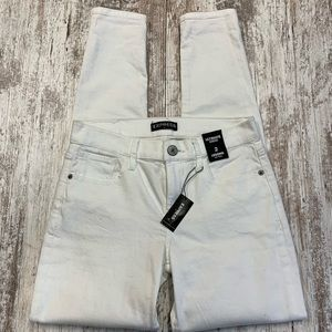 NWT Express white ultimate stretch legging jeans